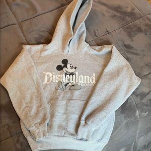 Disneyland sweatshirt.